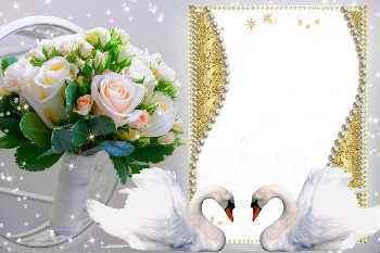 dbb3242e7e85 Más de 430 marcos de boda gratis para la dición de fotos online